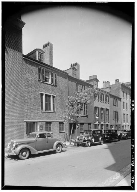 Hamilton Street Club, 1936