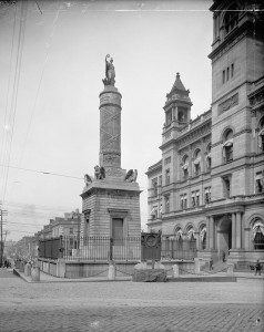 Battle Monument, 1900