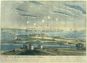 Fort McHenry Bombardment, 1814