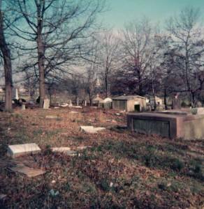 St. Vincent's Cemetery, 1970s
