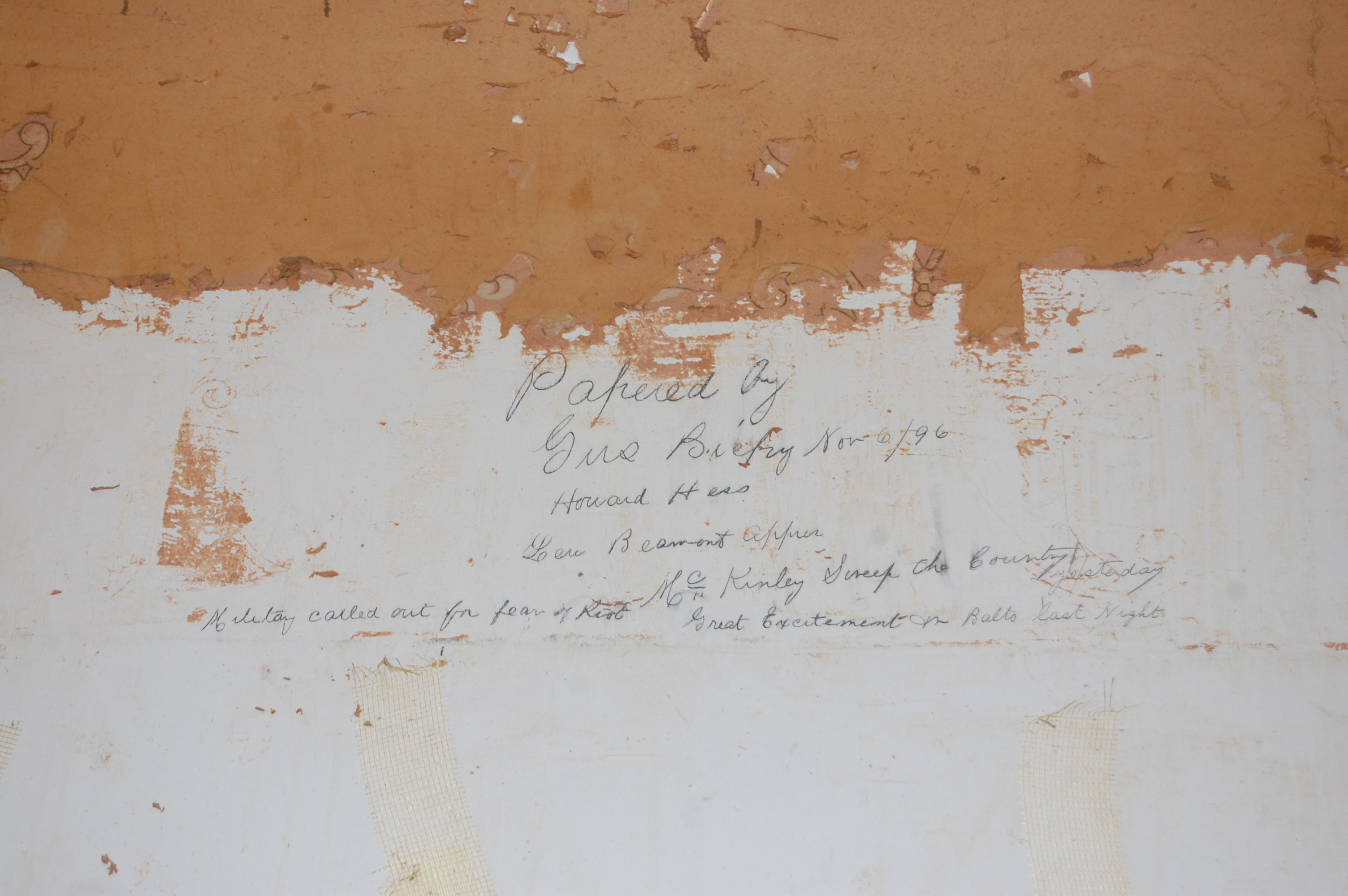 Historic note, Bolton Hill Rowhouse