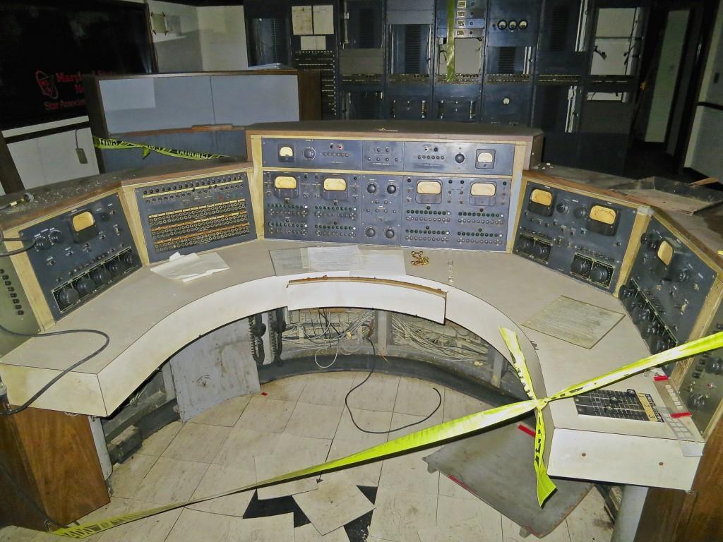 Control panel, WFBR Radio