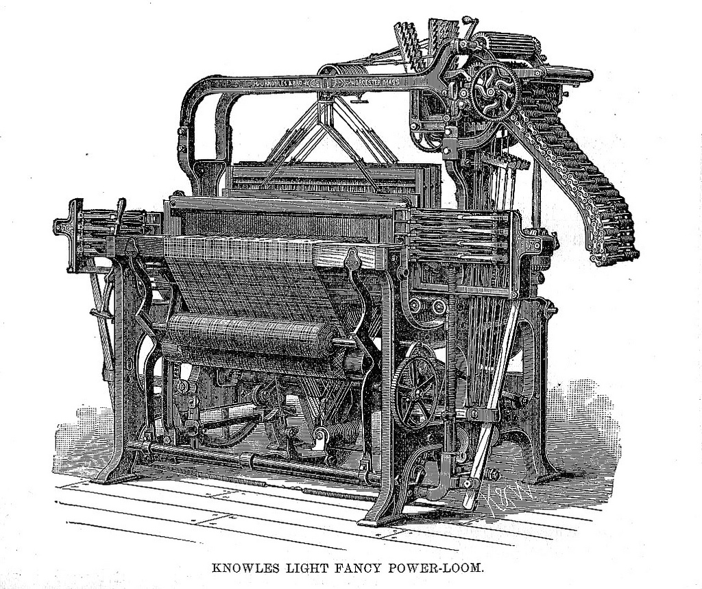 Knowles Light Fancy Power-Loom, ca. 1787