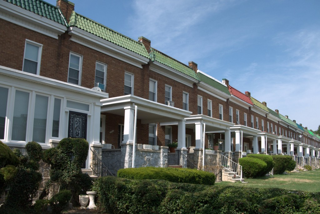 Rowhouses, West Lafayette Avenue