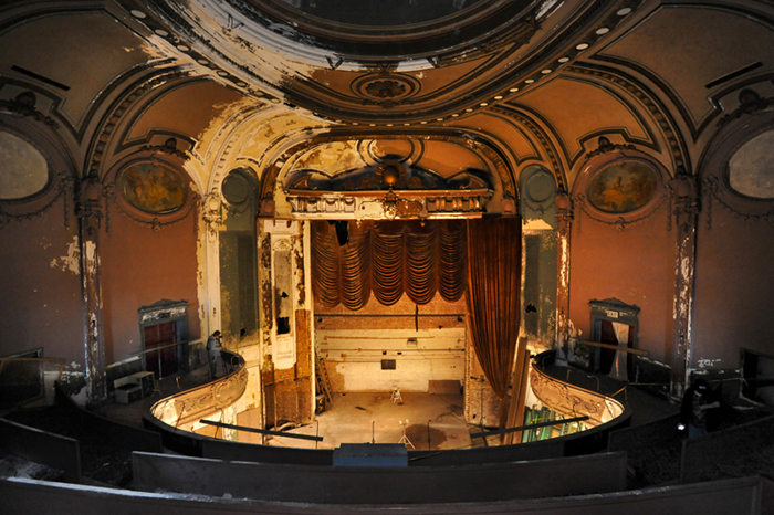 Parkway Theater, March 26, 2014. Flickering Treasures © Amy Davis.
