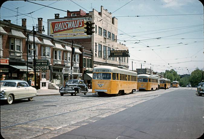 Edmondson Avenue at Poplar Grove Street