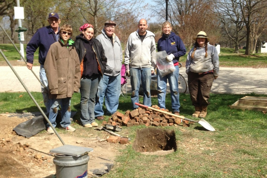 Project team and volunteers, Artifact, We Dig Hampstead Hill
