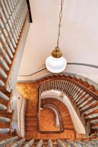 Lillie Mae Carroll Jackson House, Stairwell