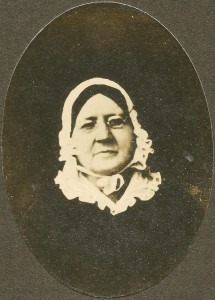 This photo of Mary Pickersgill was taken some 40 years after the Battle of Baltimore. Courtesy of the museum.