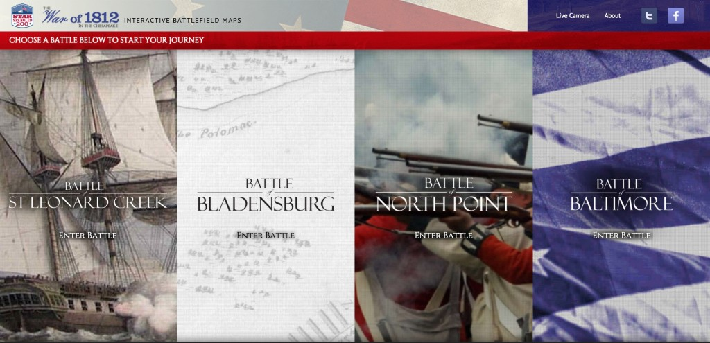 The state's suite of interactive battle maps utilize new tools to tell familiar stories