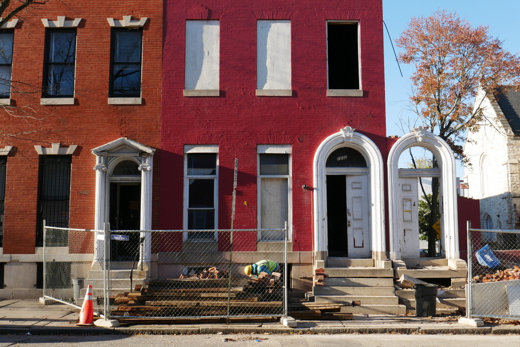 Photograph Of 1232 Druid Hill Avenue November 2017
