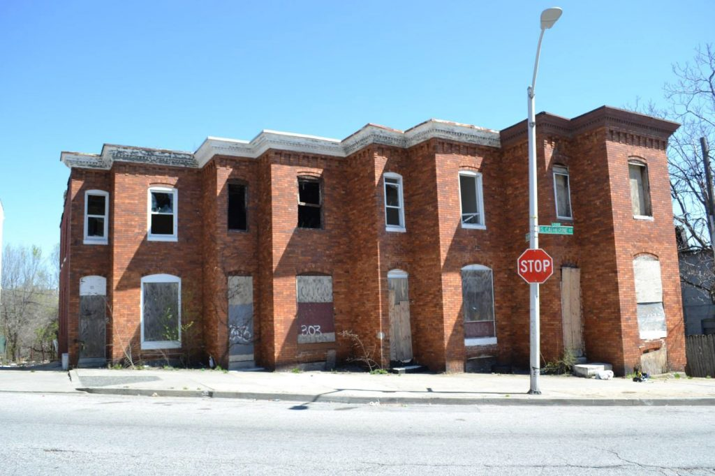 301-307 S. Catherine Street. Courtesy DHCD.