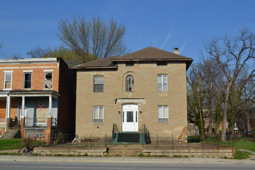 4303 Park Heights Avenue. Courtesy DHCD.