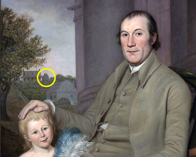 Detail from Portrait of William Smith and His Grandson, Charles Wilson Peale, 1788. Courtesy Virginia Museum of Fine Arts.