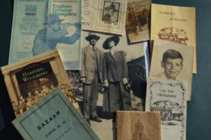 A collection of pamphlets and publications related to the history of Hampden.